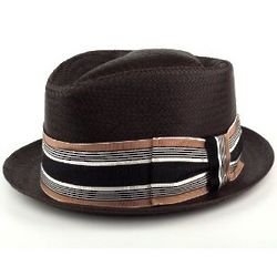 Men's Brown Straw Hat