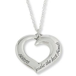 Sisters Make the Best Friends 14K Gold Necklace