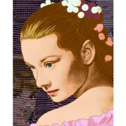 Audrey Hepburn Pop Art Print
