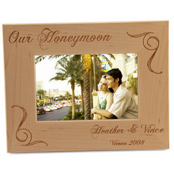 The Honeymooner's Picture Frame