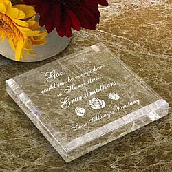 Personalized God Created You Keepsake & Paperweight