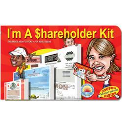 I'm A Shareholder Kit for Kids & Teens