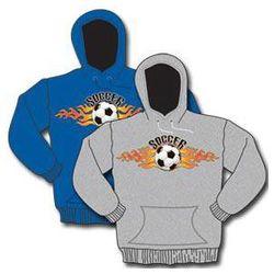 Soccer Flame Hoody