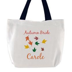 Autumn Bride Tote Bag