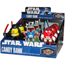 M & M Star Wars Coin Bank