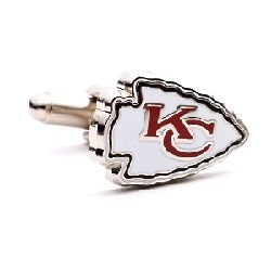 Kansas City Chiefs Enamel Cufflinks