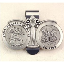 US Army St. Michael Visor Clip