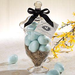 Robin's Egg Soap Jar