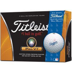 Personalized Los Angeles Dodgers Golf Balls