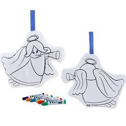 Color and Hug Angel Coloring Kit