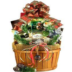 Big Beautiful Bountiful Holiday Gift Basket