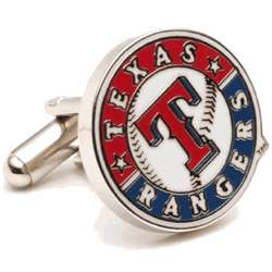 Texas Rangers Enamel Cuff Links