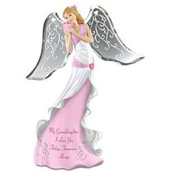 Granddaughter's I Love You Angel Figurine