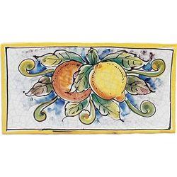 Italian Orange and Lemon Plaque