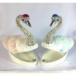 Promise of Love Swan Jewelry Box