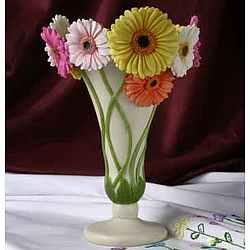 Gerbera Daisy Table Vase