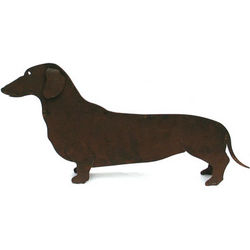 Miniature Dachshund Sculpture