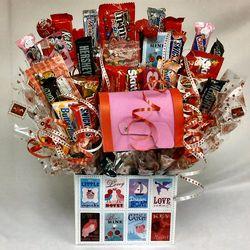 Sending My Love Candy Bouquet