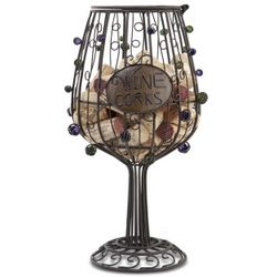 Wine Glass Cork Cage