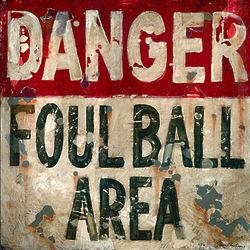 Foul Ball Wall Art