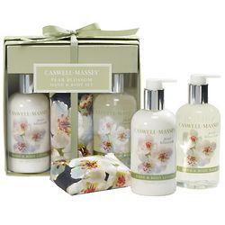 Pear Blossom Bath and Body Set