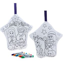 Color and Hug Nativity Coloring Kit