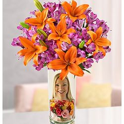 Brilliant Autumn Lily Medley Bouquet