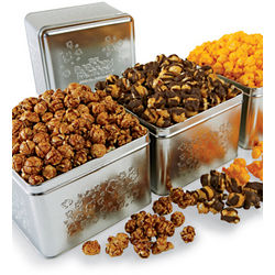 Caramel Apple Platinum Popcorn Tin