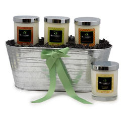 Premium Organic Fall Scents Candle Gift Set