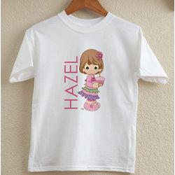 Precious Moments Personalized Kid's Birthday T-Shirt