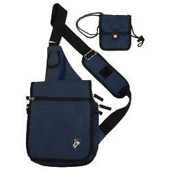 Navy Travelmate Shoulder Bag