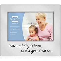 Grandmother is Born 4x6 Picture Frame
