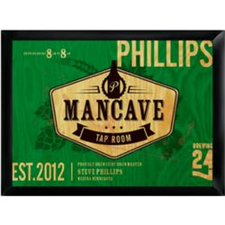 Tap Room Personalized Man Cave Framed Pub Sign