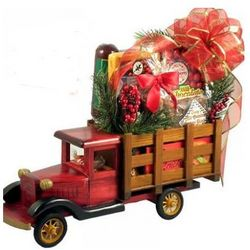 Christmas Cargo Snacks Gift Basket