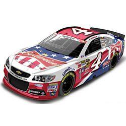 2014 NASCAR Kevin Harvick No. 4 Patriotic Budweiser Diecast Car
