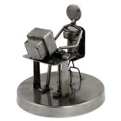 Rustic Programmer Auto Parts Sculpture