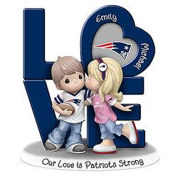 Precious Moments Patriots Personalized Couple Figurine