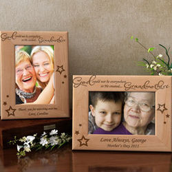 Personalized God Created You Wooden Picture Frame