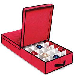 Under Bed Ornament Storage Box