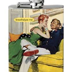Breathalyze Me Hip Flask