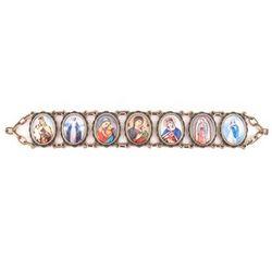 Antique Finish Madonna Bracelet