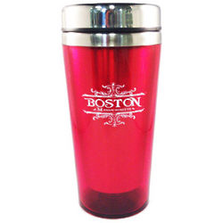 Boston Scroll Travel Mug