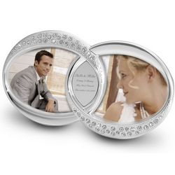 Double Ring Bling Picture Frame
