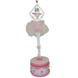 Musical Ballerina Cat Figurine