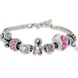 Breast Cancer Awareness Theme Oriana Bracelet