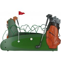 Golf Magazine Rack and Storage Bin