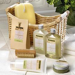 Lemongrass Eucalyptus Spa Set