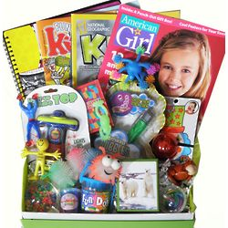 Girl's Magazines and Toys Gift Box