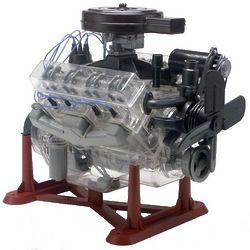 Visible V8 Engine Scale Model Kit