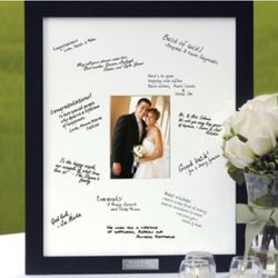 Guest Book Personalized Frame